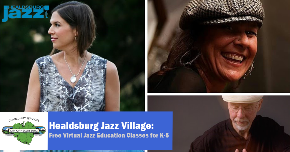 Jazz Village Virtual Classes for K-5